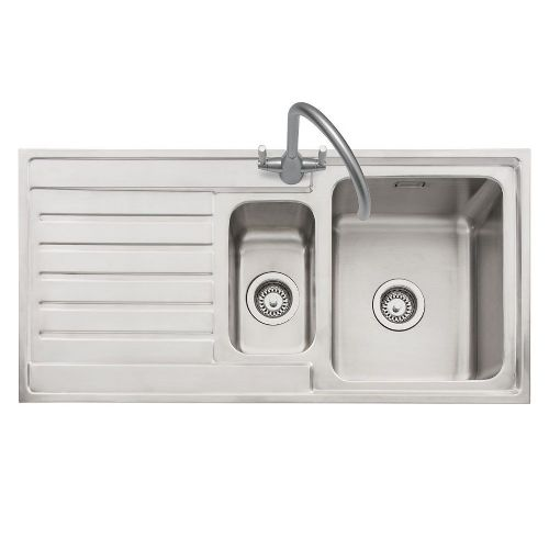 Caple Vanga 150 Stainless Steel Single Bowl Inset Kitchen Sink